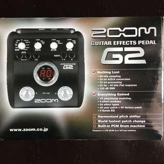 Zoom G2 Multi-Effects Guitar Pedal