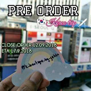 Pre order Korean Cosmetic and Skincare