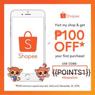 P100 DISCOUNT ON YOUR FIRST BUY