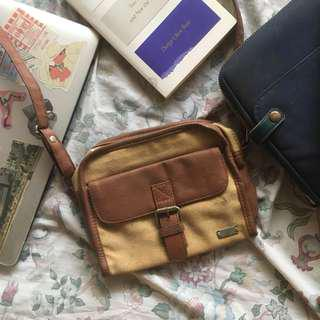 BAYO Mini Satchel Bag (Brown)