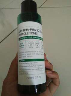 Aha-bha-pha 30 days miracle toner
