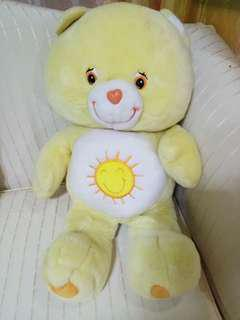 "Care Bears Funshine 24"" Stuffed Toy"