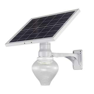 Integrated solar peach lights garden lights