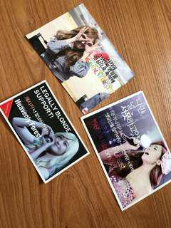 🚚 Jessica Jung stickers for free, pay postage only