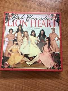 🚚 SNSD Girls' Generation Lion Heart Album
