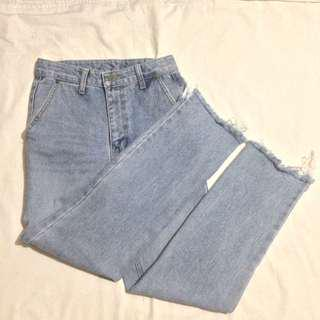 Highwaisted Mom Jeans