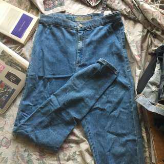 Topshop Skinny Mom Jeans (Joni)