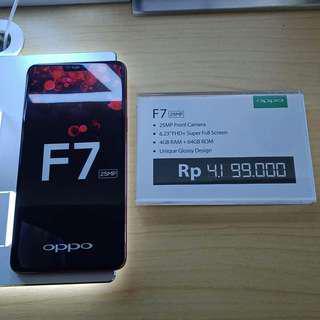 OPPO F7 Bisa Di Cicil Ringan Tanpa Kartu Kredit Hanya Disini