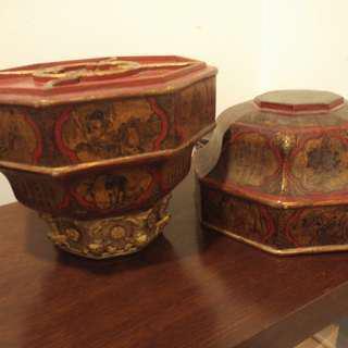 Taoist religious ceremony wooden box