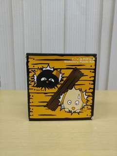 全新 得意造型 桌上文具(Memo紙)擺設 小黃狗 連盒