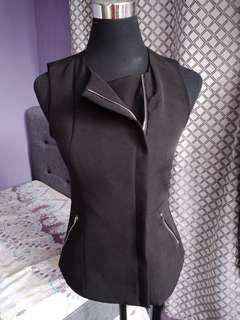 Valley Girl black sleeveless