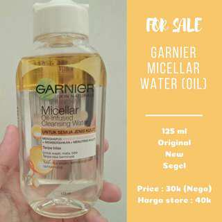 (NEGO) Garnier Micellar Oil Infused Cleansing Water 125ml