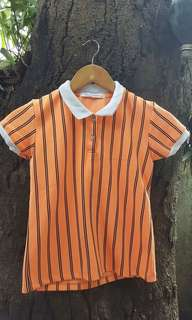 Neon Orange Polo Shirt