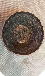 Unique Carving Antique Bowl