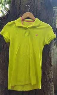 Giordano Neon Green Polo Shirt