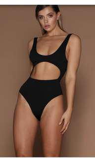 Meshki body suit black
