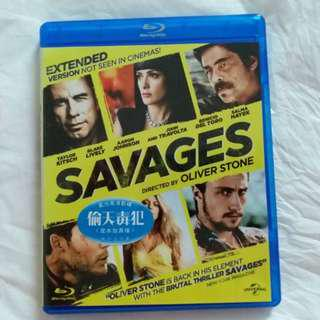 Blu-ray 港版 偷天毒犯 (加長版) Savages (Extended Version) blu ray bluray 藍光