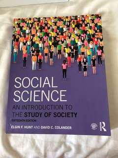 SUSS SIM Social Science Textbook