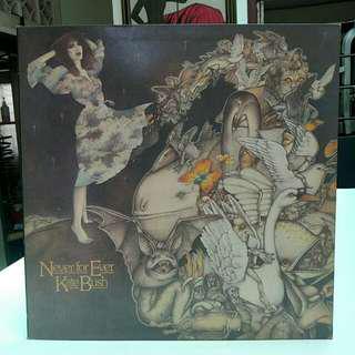 KATE BUSH - Never For Ever LP (EMA 794)