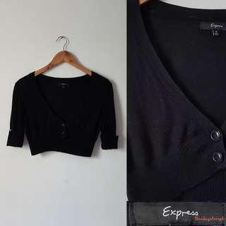 Express Cropped Cardigan