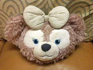 (絕版) 香港迪士尼Shelliemay大頭造型cushion