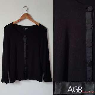 AGB Black Cardigan