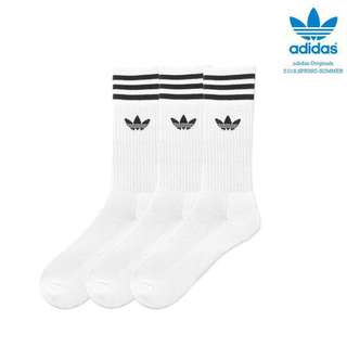 🚚 INSTOCK Adidas Originals Solid Crew Socks