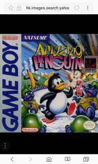 《原廠、正貨,日本制》Nintendo GameBoy, Gameboy Advance Game 說明書。   Amazing Penguin 任天堂GameBoy經典之作。Made In Japan  All game text when u buy.  100% Original  日本製造🇯🇵  Super deals