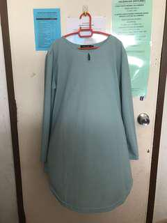 Sejati Blouse - Mint Green