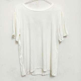 🚚 🎀全新🎀白短T#九月女裝半價