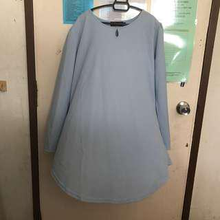 Sejati Blouse - Light Blue