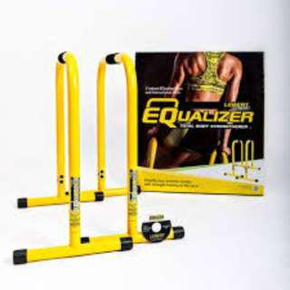 Lebert Equalizer Total Body - Bar Kalistenik (Asli)