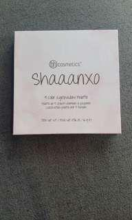 BH cosmetics Shaaanxo 9 eyeshadow & 9 lipstick colours