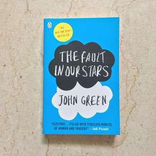 The Fault In Our Stars John Green New Book