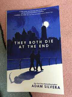 Book , english book , english novel , they both die at the end , adam silvera