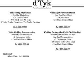D'tyk Wedding and Prewedding