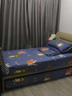 3 in 1 PULL OUT BED SET