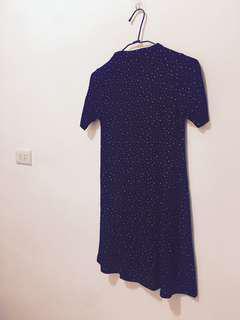 🚚 歐美短袖點點洋裝 Pull&bear zara副牌