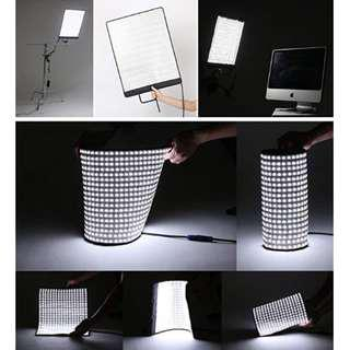 FalconEyes RX-12T 280 Lights Lightweight Roll-Flex panel LED Light Waterproof Lamp