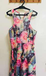 Dotti Halter Floral Dress