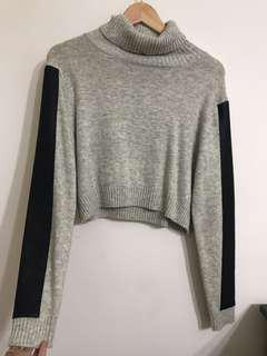Sheike crop knit