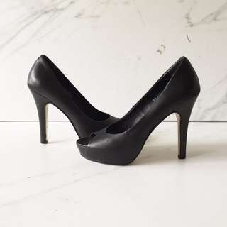 Bruno Premi Peep Toes