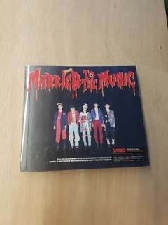 SHINee Married To The Music CD