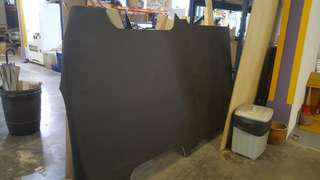 USED  floor board with rubber wrap FOR hyundai H1