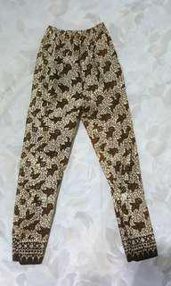 Celana Panjang Kain Batik - Motif B