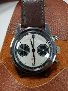 Baltic Bicompax Panda Chronograph