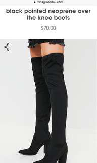 Missguided boots
