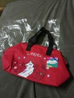 迪士尼小美人魚 保冷袋/便當袋