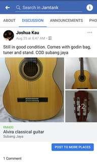 Alvira classical guitar