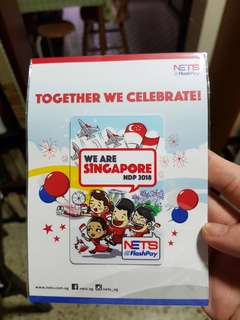 Brand New Sold Out NDP2018 Nets Flashpay Card